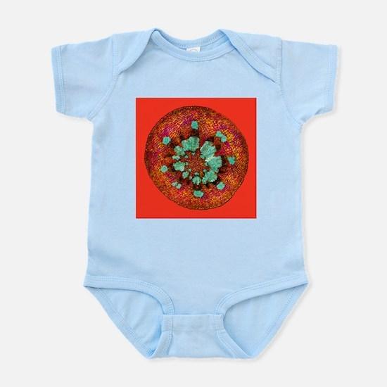 Mistletoe stem, light micrograph - Infant Bodysuit