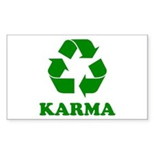Karma Recycle Decal