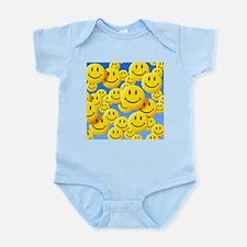 Smiley face symbols - Infant Bodysuit