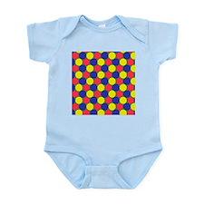 Uniform tiling pattern - Infant Bodysuit