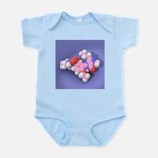 Viagra drug molecule - Infant Bodysuit