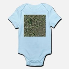 Cardiff, aerial photograph - Infant Bodysuit