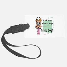 grand dog Luggage Tag
