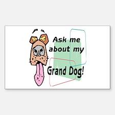 grand dog Decal