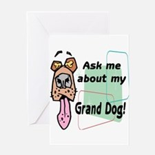 grand dog Greeting Card