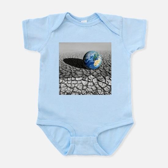 Global warming, conceptual artwork - Infant Bodysu