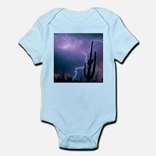 Lightning storm over Tucson, Arizona - Infant Body