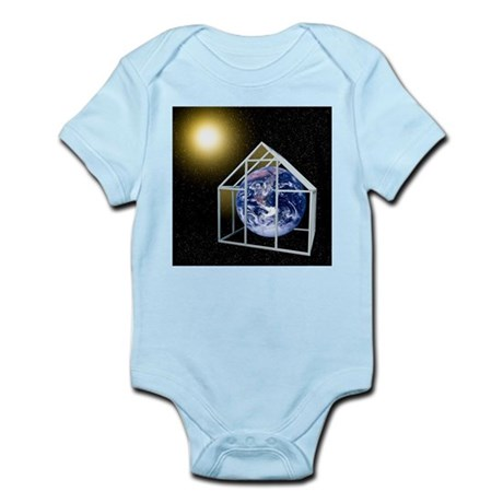 Greenhouse effect, conceptual artwork - Infant Bod