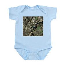 Huddersfield, UK, aerial image - Infant Bodysuit