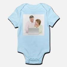 Laptop use - Infant Bodysuit