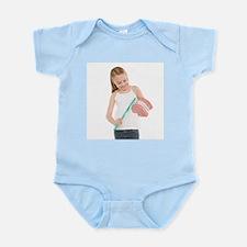 Learning dental hygiene - Infant Bodysuit