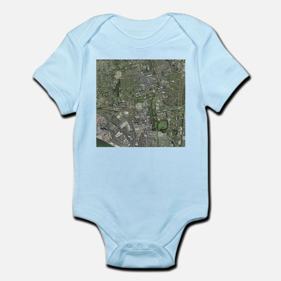 Southampton,UK, aerial image - Infant Bodysuit