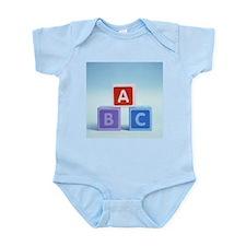 Alphabet blocks - Infant Bodysuit