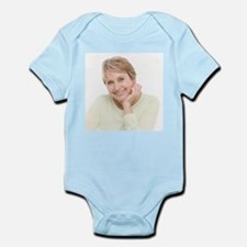Smiling senior woman - Infant Bodysuit