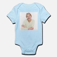 Smiling senior woman - Infant Bodysuit