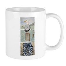 Seagull and Mussels Mug