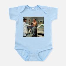 ECG stress test on male patient - Infant Bodysuit