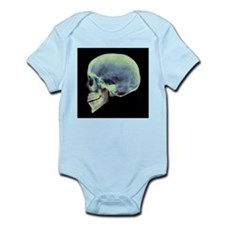 Human skull, X-ray - Infant Bodysuit