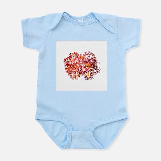 Haemoglobin molecule - Infant Bodysuit