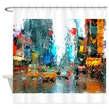 Times Sq. No. 7 Shower Curtain