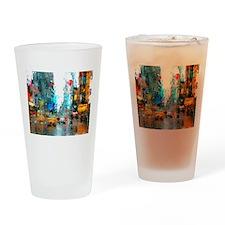 Times Sq. No. 7 Drinking Glass