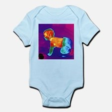 Thermogram of a baby - Infant Bodysuit
