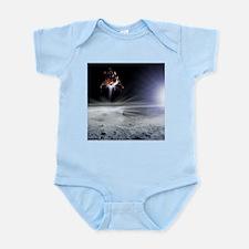 Apollo 11 Moon landing, computer artwork - Infant