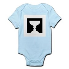 Goblet illusion - Infant Bodysuit