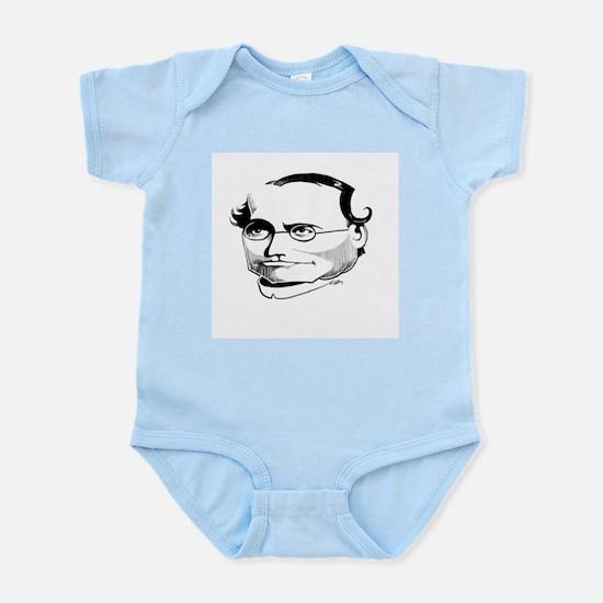Gregor Mendel, caricature - Infant Bodysuit