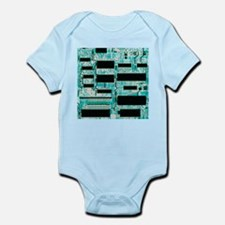 Circuit board with microprocessors, etc - Infant B