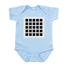 Hermann grid - Infant Bodysuit