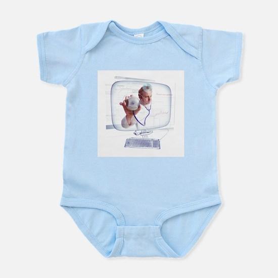 Electronic doctor - Infant Bodysuit