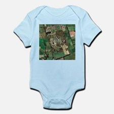 Menwith Hill spy base, aerial image - Infant Bodys