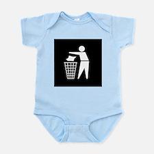 No litter sign - Infant Bodysuit
