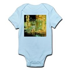 Oil refinery at night - Infant Bodysuit
