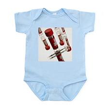 Blood samples and syringe - Infant Bodysuit