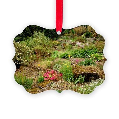 Alpine rockery - Picture Ornament