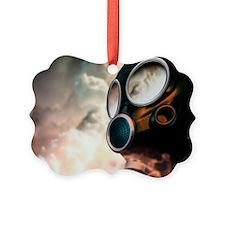 Chemical warfare, conceptual artwork - Ornament