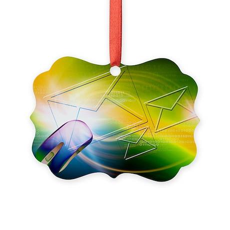 Email, conceptual artwork - Picture Ornament
