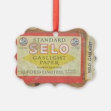 Gaslight photographic paper - Ornament
