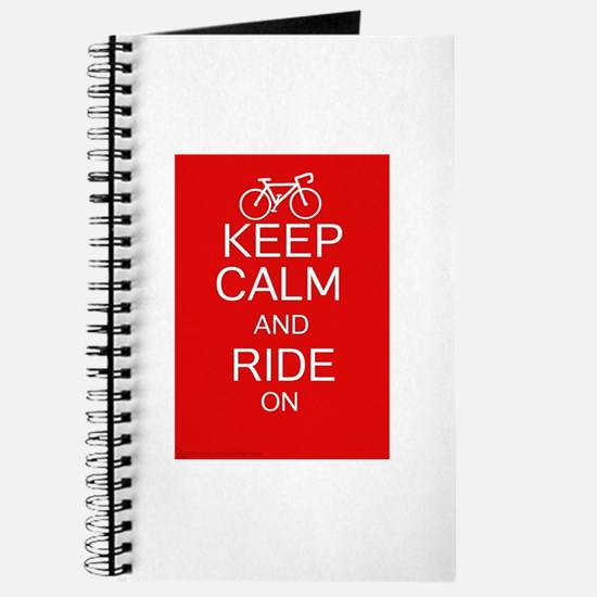 Keep Calm And Ride On Journal