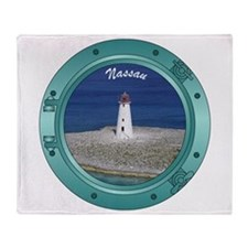 Nassau Porthole Throw Blanket