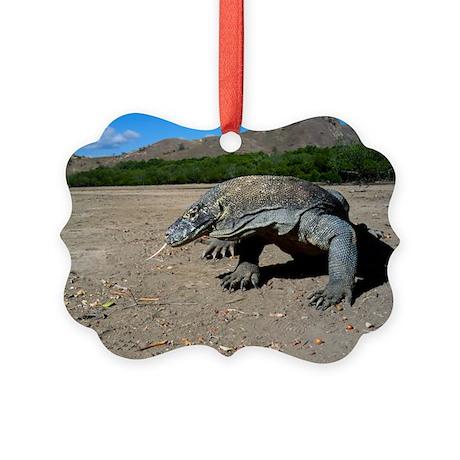 Komodo dragon - Picture Ornament