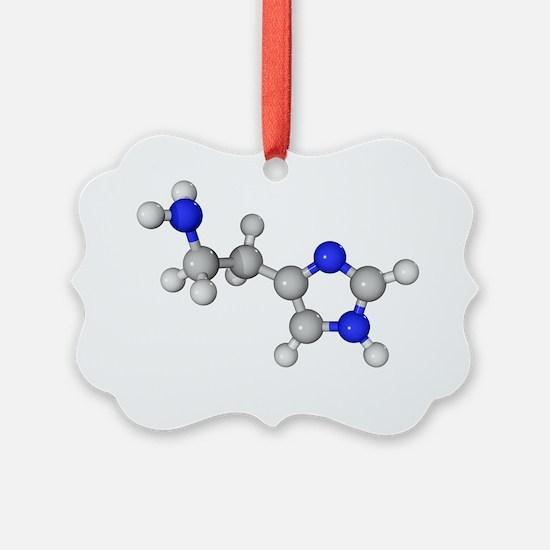 Histamine molecule - Ornament