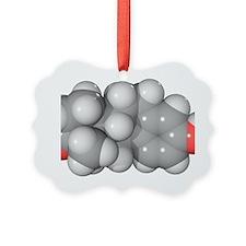 Oestrone hormone molecule - Ornament