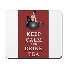 Keep Calm and Dink Tea Mousepad