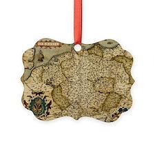 Ortelius's map of Germany, 1570 - Ornament