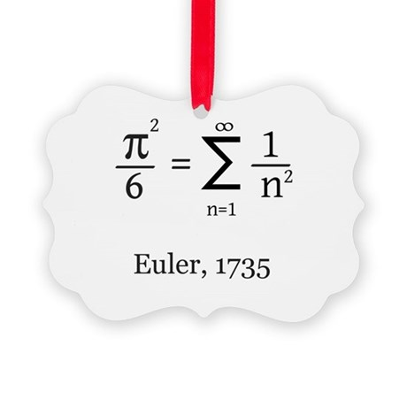 Eulers Formula For Pi Ornament By Robwilliams Geek Shop