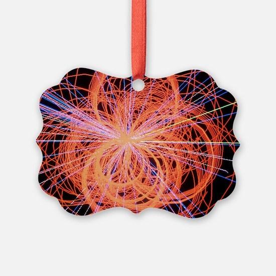 Simulation of Higgs boson production - Ornament