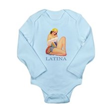 Latina Long Sleeve Infant Bodysuit